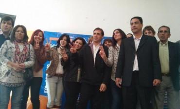 Cristián Mansilla presentó la lista 2 que competirá en las PASO del FpV