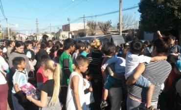 En el barrio Las Ranas ya se preparan para celebrar el día del Niño