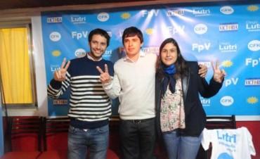 Diego Lutri presentó la lista de prencandidatos que competirá en las PASO del FpV