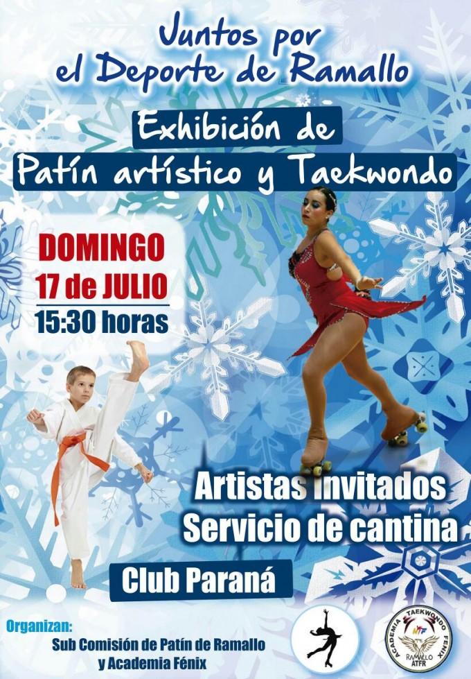 Se viene la fiesta del patín y taekwondo
