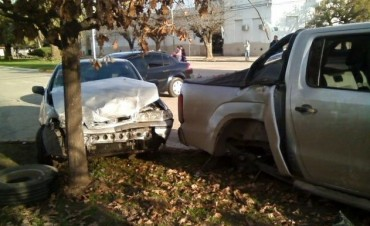 Accidente en Ramallo