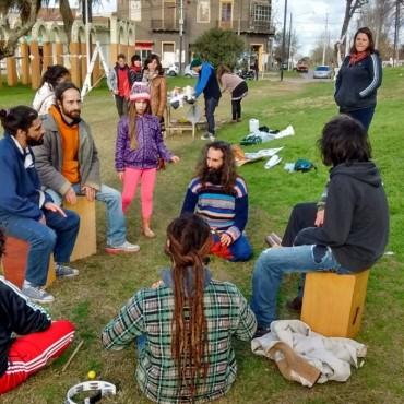 Artistas locales se manifestaron en defensa de