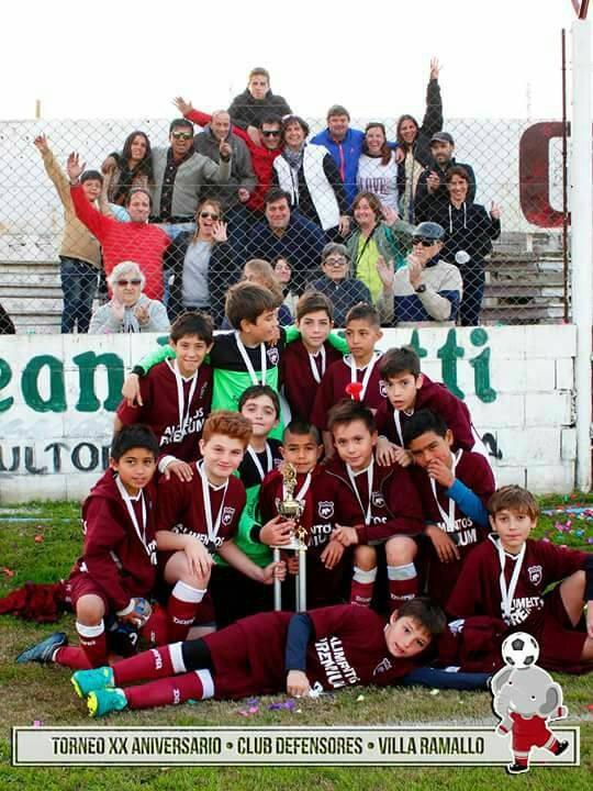 Porvenir Talleres, Alvear y Los Cuervos fueron los campeones del torneo Aniversario Granate