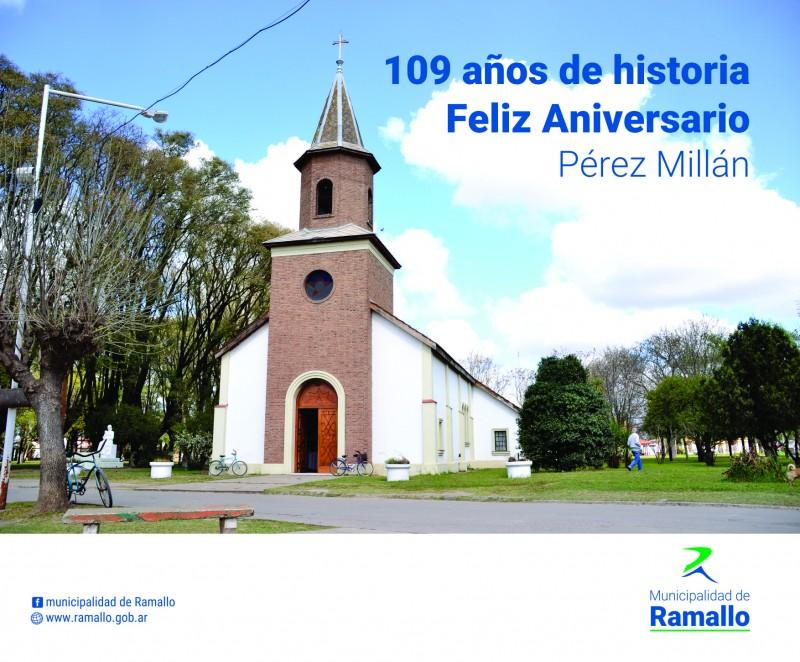 109 Aniversario de Pérez Millán