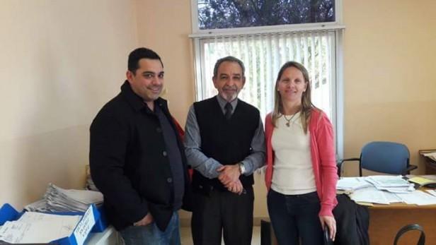 Maira Ricciardelli se reunió con el Doctor Millan