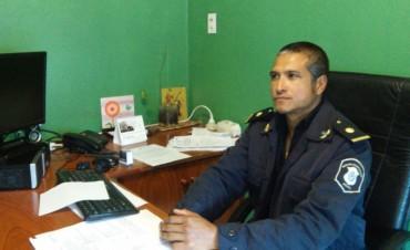 El subcomisarío Ponce se refirió a la nota publicada en medios nacionales
