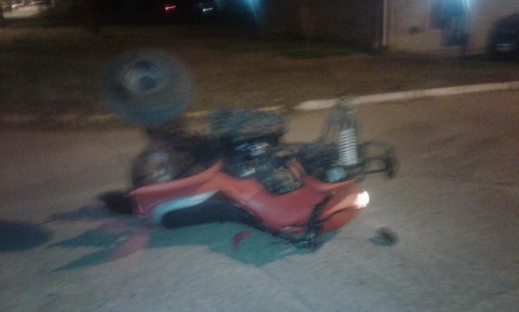 Accidente en la ciudad de Ramallo