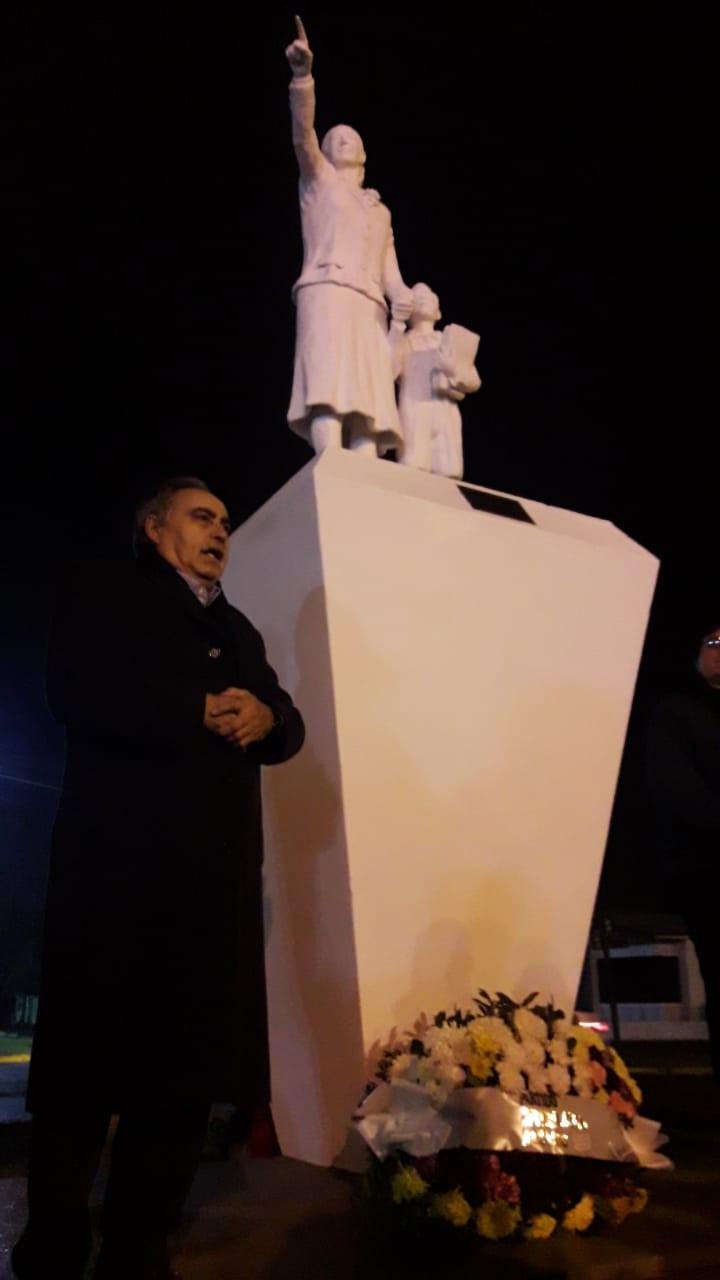 Dirigentes y simpatizantes recordaron a Evita