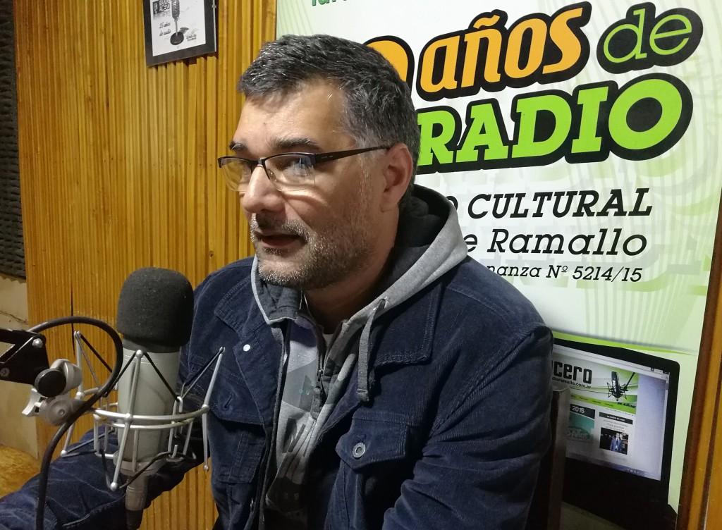 Entrevista al Profesor Gustavo Perie  'Ahora la responsabilidad es enorme'