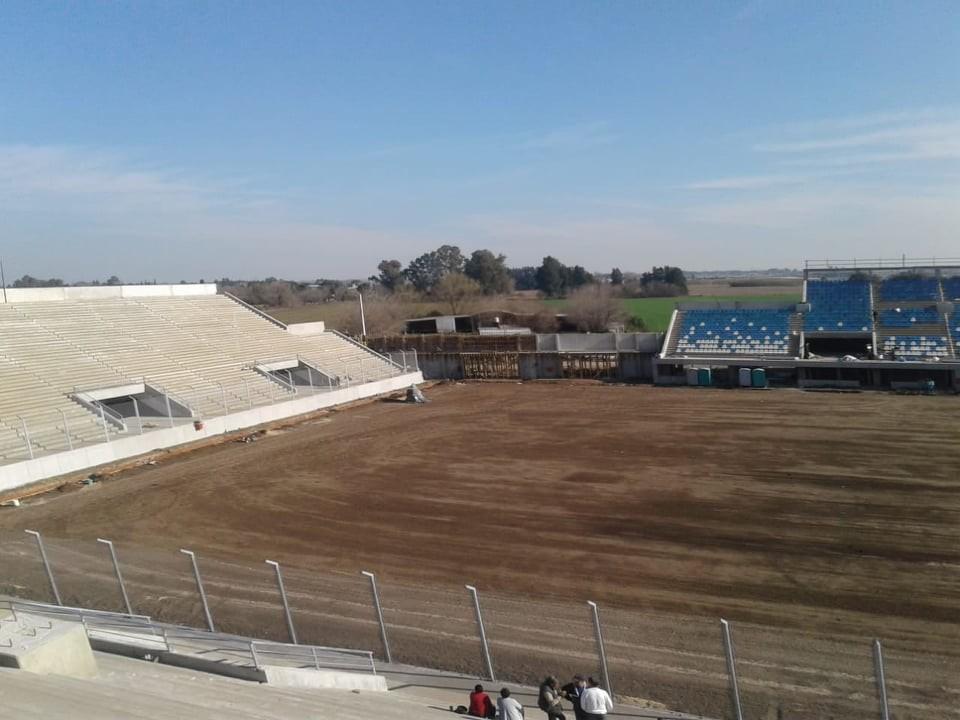 Visita al Estadio Único de San Nicolás