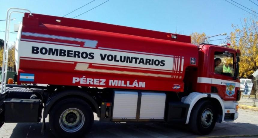 Bomberos de Pérez Millán detalló las inversiones realizadas