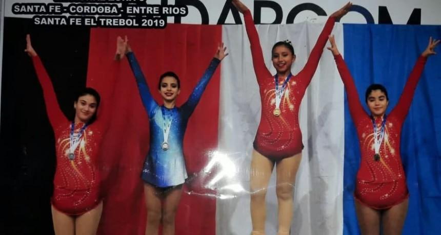 Abril Grottini y Jimena Galarza clasificaron al Nacional de Patín