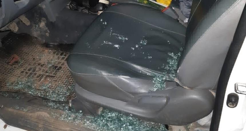 Hieren de un piedrazo a un conductor en la 1001