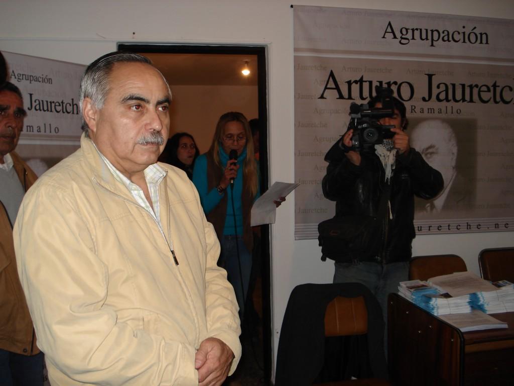 Ricardo Gorostiza fue designado como representante de la provincia en Comirsa