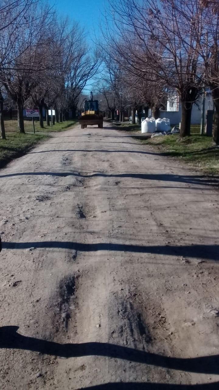 Bacheo y reparación en barrio Don Antonio