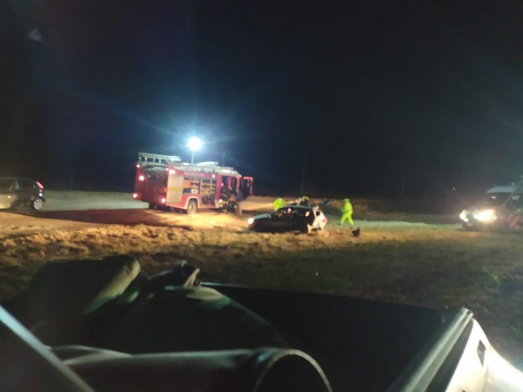Accidente en ruta 51