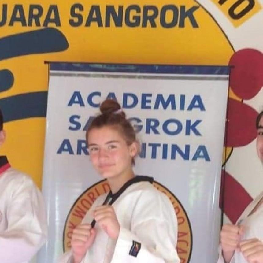 Taekwondo: Constanza Gilliard fue convocada a la Selección Nacional Infantil