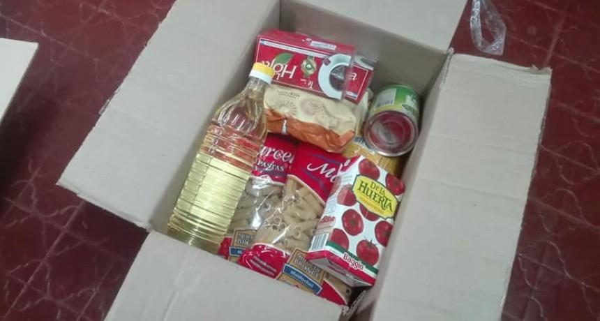 Desde que comenzó la pandemia en Ramallo se entregaron más de 16 mil bolsones alimentarios