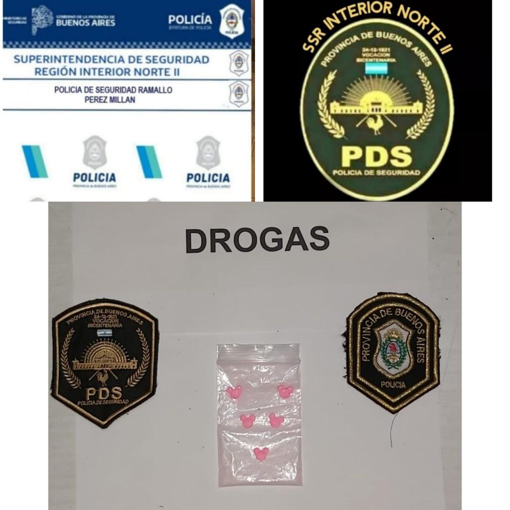 Pérez Millán: Incautan drogas sintéticas, cocaína y marihuana