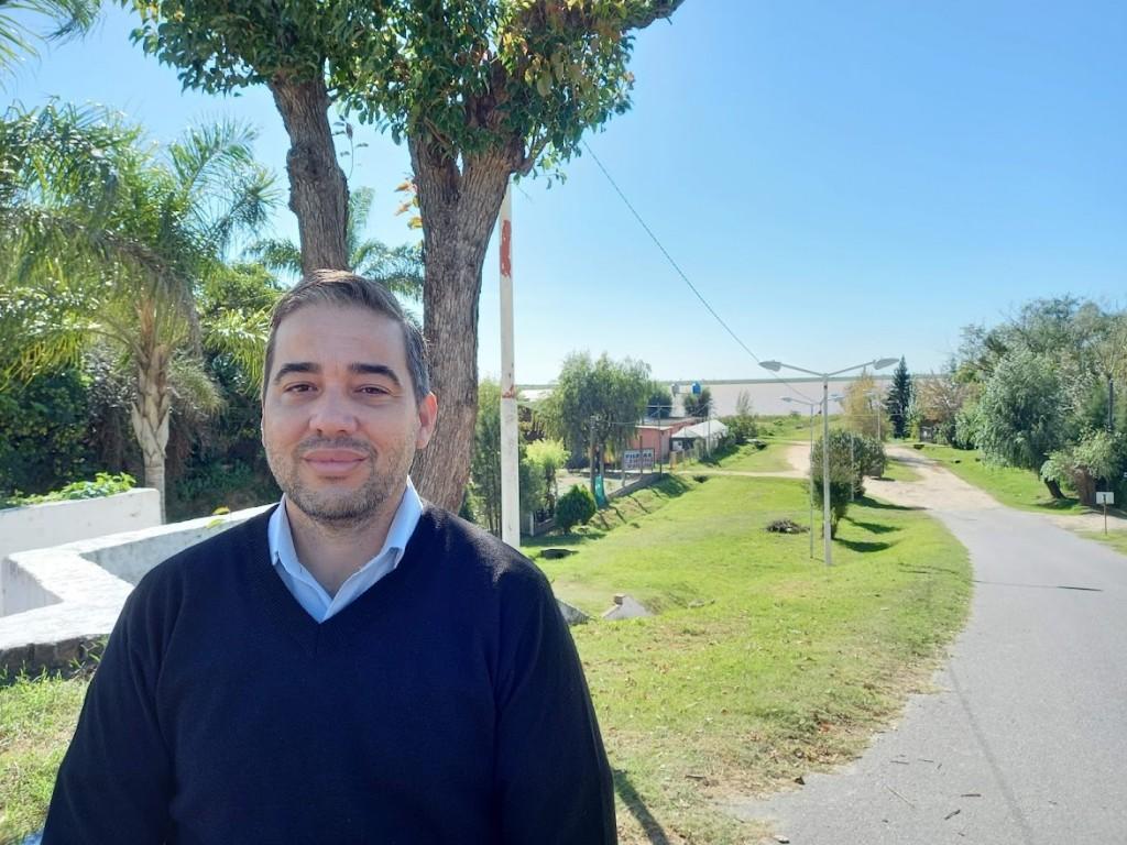 Hernán Stebano encabeza la lista del Frente de Todos