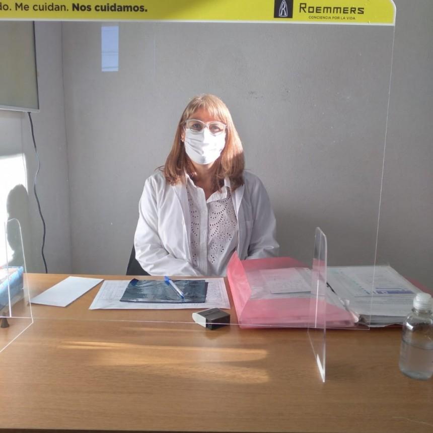 """Lic. Silvia Duchi- CPA Ramallo """"Fue muy importante recuperar el contacto con el paciente, antes era muy difícil porque no todos cuentan con Internet"""""""