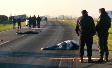 Dos muertos en un hecho de piratería del asfalto en Villa Constitucion