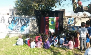 La Cámpora Ramallo festejó el Mes del Niño en la ciudad