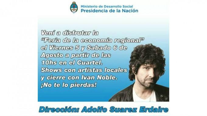 Feria de la economía social en San Nicolás