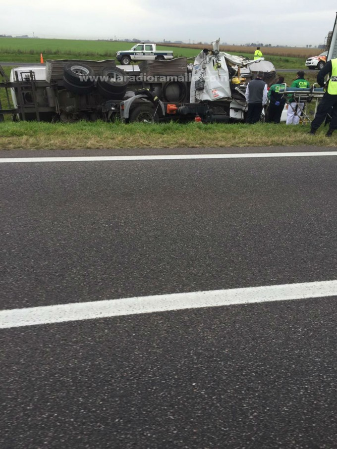 Otro accidente en ruta 9