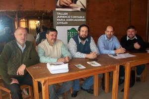 Rumbos organizó una jornada de capacitación para asociaciones civiles
