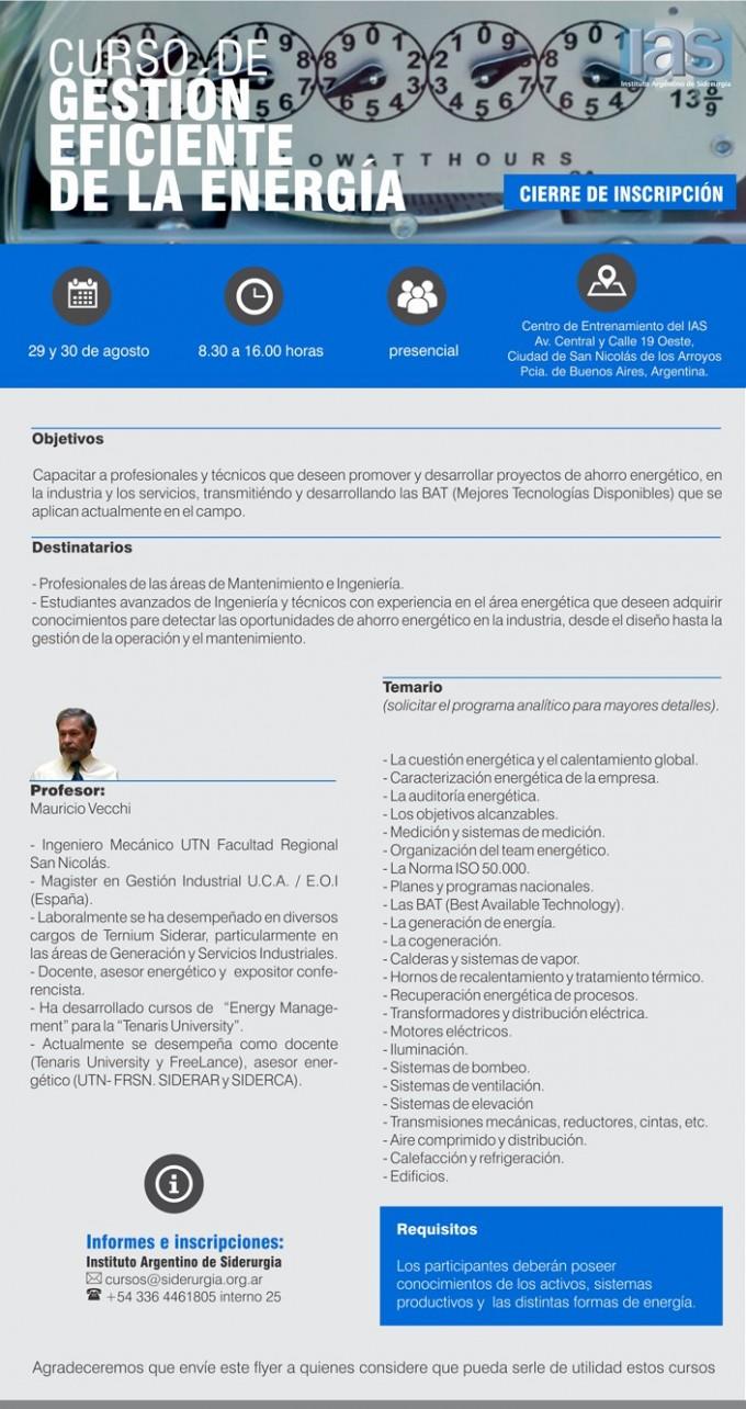 IAS informa
