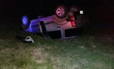 Accidente en el kilómetro 208 de la ruta 9