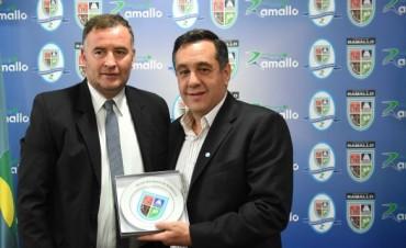 El Intendente Poletti recibió al Ministro Finocchiaro