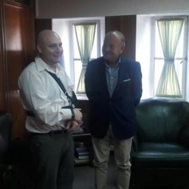 El doctor Maciel se reunió con el fiscal general