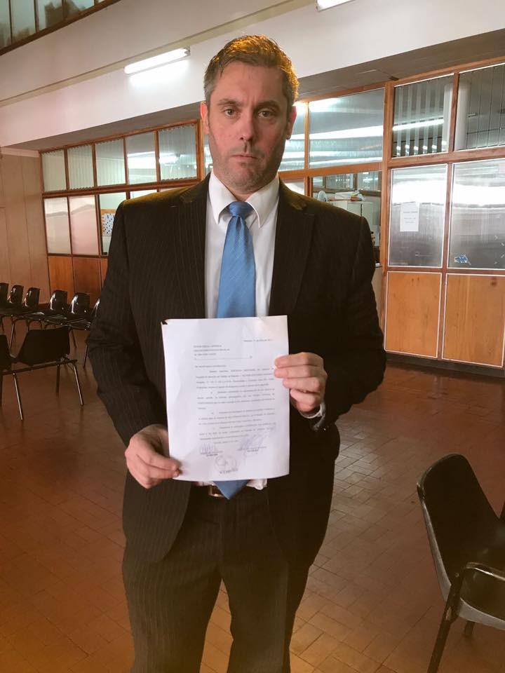 Massot presentó una nota y solicitó una audiencia al fiscal general