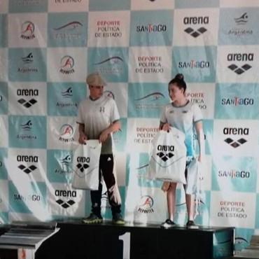 Francisco Butti: Seis carreras, seis títulos en el Nacional de Natación