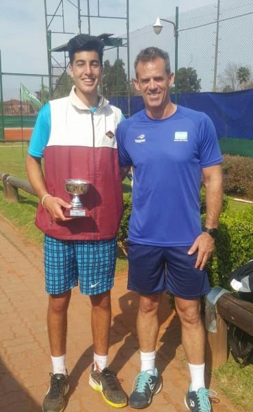 Tomas Farjat campeón de un torneo Nacional G1