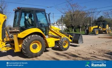 La Municipalidad de Ramallo adquirió dos maquinarias