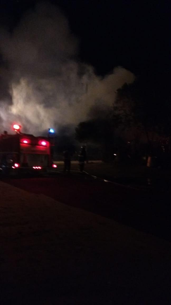 Incendio en una vivienda en Ramallo
