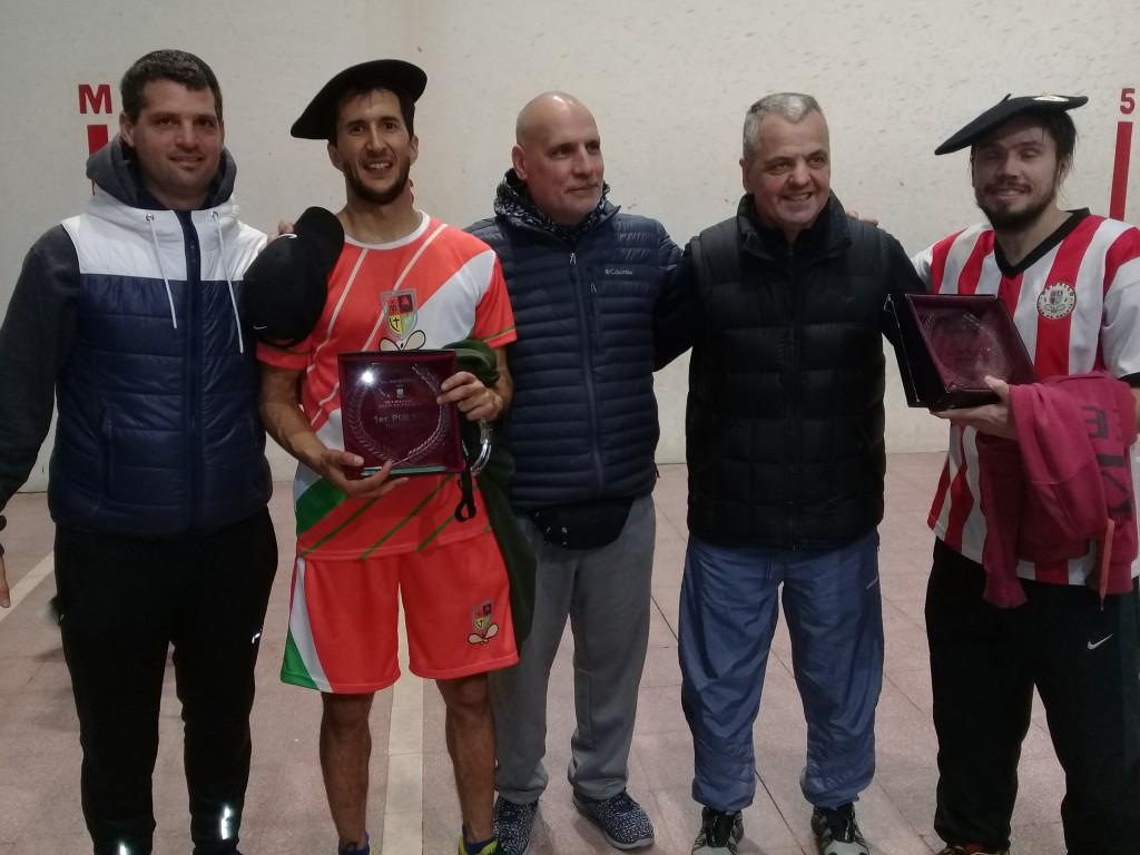Con Pelota a paleta de altísimo nivel se festejó el 8° Aniversario Ramallo Club de Pelota