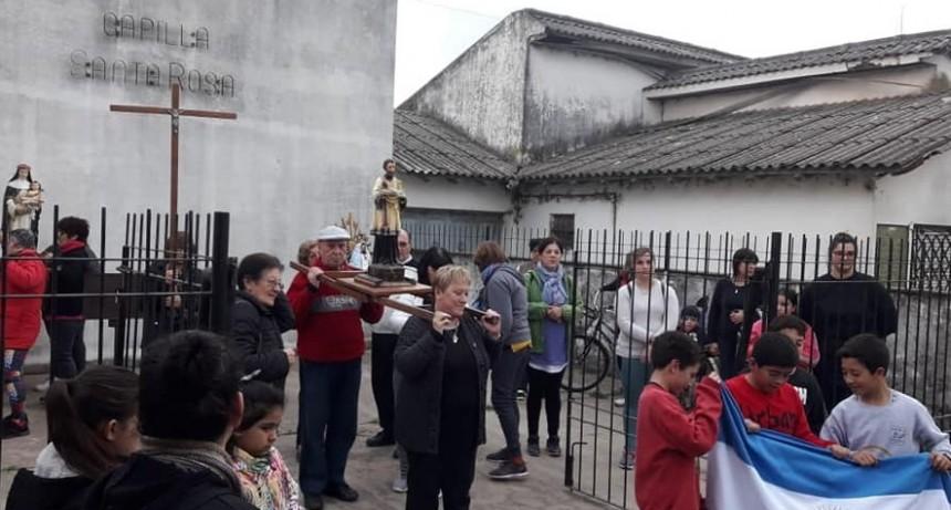 Con misas se recordó a San Cayetano