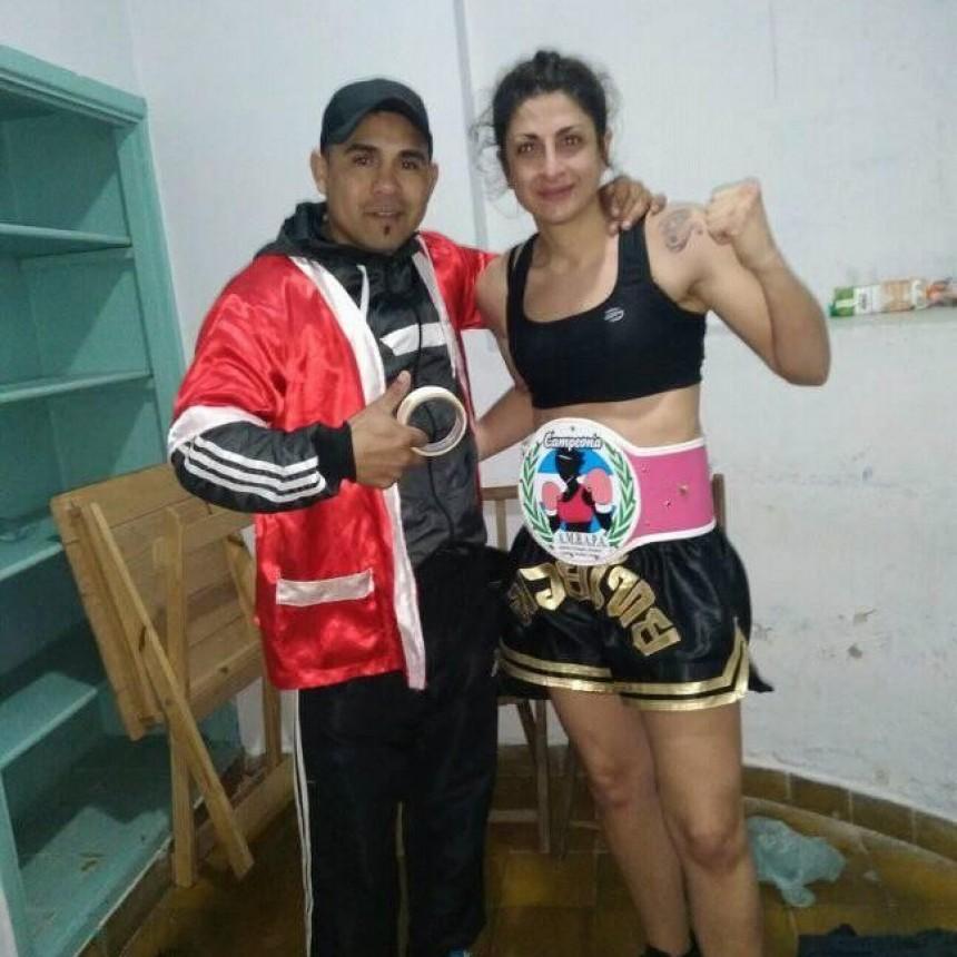 Nieves Marcone campeona Nacional en Pigue