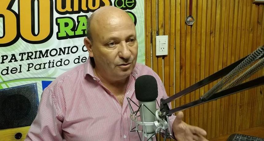 """Jorge Urquiza- Dirigente UCR  """"Que un abogado de una empresa diga que va a ir contra el Intendente, contra los concejales, contra el patrimonio personal es un apriete liso y llano y es inadmisible"""""""