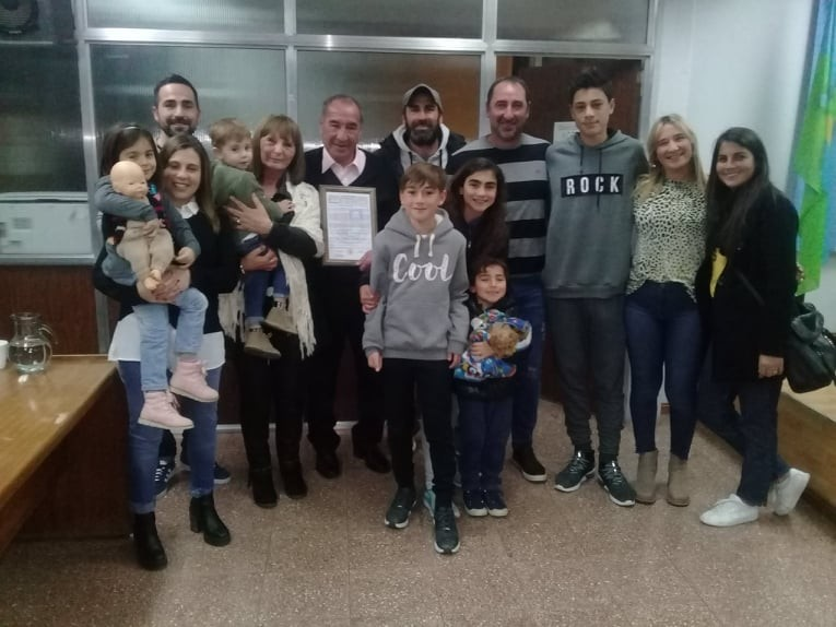 Avelino Verón fue declarado Ciudadano Ilustre de Ramallo
