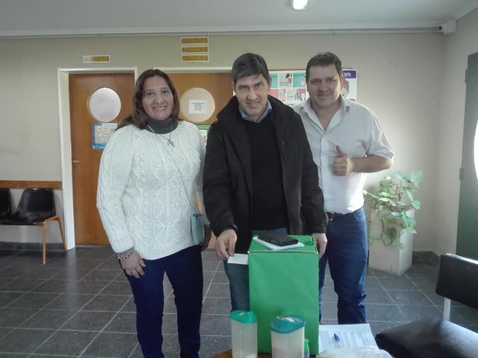 Contundente apoyo de los afiliados a la gestión de Lescano en ATE
