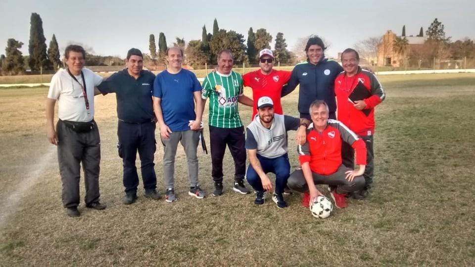Independiente de Avellaneda realizó una prueba de futbolistas en Los Andes