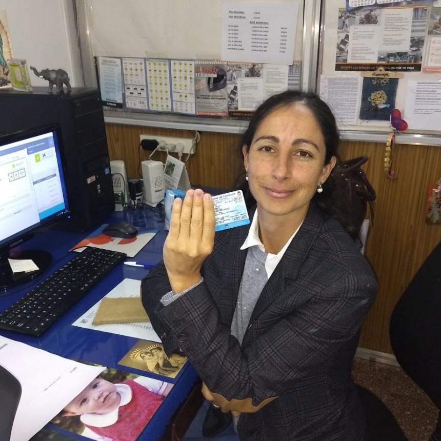Hoy se empezaron a imprimir las licencias de conducir en Ramallo