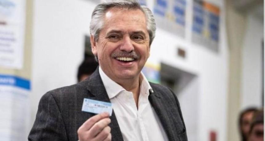Alberto Fernández fue el más votado en Ramallo