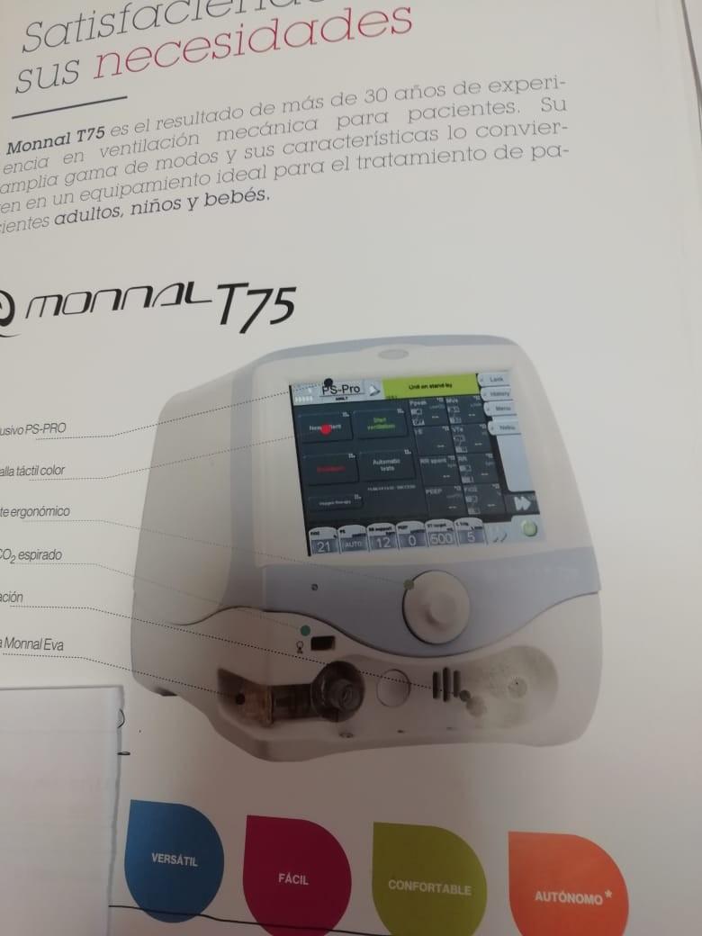 La Cooperadora compró un respirador de alta complejidad