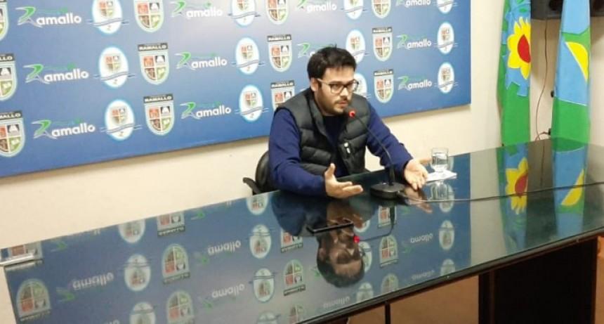 Vázquez 'Es decisión política del intendente Poletti de hacer todo lo que esté a nuestro alcance para cumplir con las obras comprometidas con nuestros vecinos'